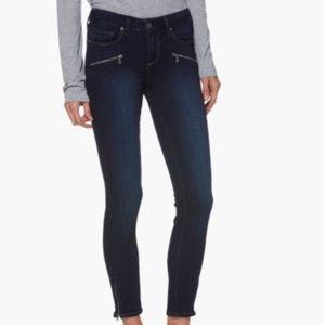 Paige Jeans Transcend – Jane Zip Crop Skinny Jeans